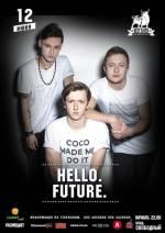 Гурт «HELLO.FUTURE» запрошує на музичний вечір з вільним входом