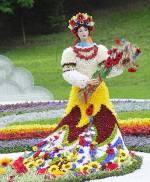 Флористичний фестиваль «Місто сонця» на Співочому полі