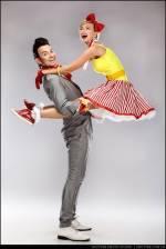 Танцювальна вечірка та майстер-клас Lindy Hop Open-Air in KMArt Yard