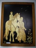Виставка картин з соломи «Моя гордість  - Україна» від Ірини Шевчук