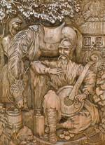 Ювілейна виставка різьбяра Петра Пипи