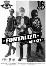 Гурти FONTALIZA та MILKIT з концертом у Royal Pab