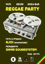 Reggae Party: NJOI & Shmir Soundsystem