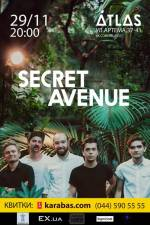 Secret Avenue: презентація нового міні-альбому в клубі 'ATLAS