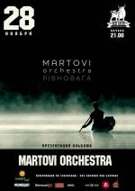 MARTOVI ORCHESTRA з концертом у арт-пабі