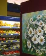 Унікальна виставка творів мистецтва у Вінницькому супермаркеті
