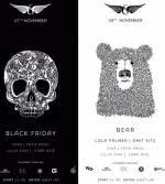 """Вечірки  """"Bear"""" та """"Вlack friday"""" у SKYROOM"""