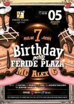 Birthday party Feride Plaza