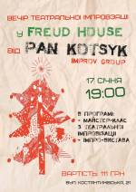 Вечір театральної імпровізації у Freud House на Подолі
