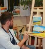 Майстер-клас із живопису олією в арт-студії «Ліхтарик»