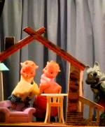 "Вистава ""Вовк і козенята"" в Театрі ляльок"