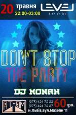 Вечірка Don't stop the party