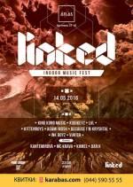 """Музичний фестиваль """"Linked indoor music fest"""" в клубі Atlas"""