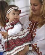 День вишиванки на Софійській площі