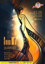 "Джаз-бенд Anna Mia Quartet в ""Caribbean Club"""