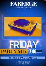 "Вечірка ""Friday Party mix"" Faberge Club & Restaurant"