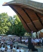 """Маріїнський парк: концерти класичної музики просто неба в """"Мушлі"""""""