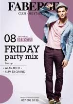 Вечірка friday party mix Faberge Club & Restaurant