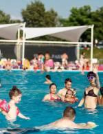 """""""PICNIC FAMILY FESTIVAL"""" біля басейну в Sky Family Park"""