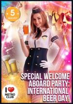 Вечірка Special Welcome Aboard party. International Beer day