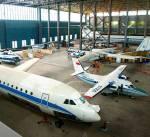 """Екскурсія для дітей """"Знайка все про літаки"""" в ангар літаків"""