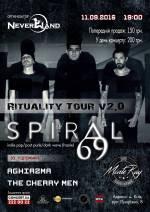 Spiral69 (Italy) - сольный концерт в Киеве