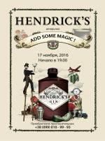 Hendrick's Bar: Add some magic party