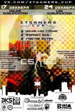 Турнир ZTGAMERS LEAGUE СS:GO 5x5