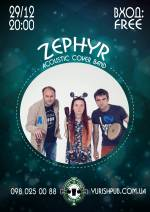 ZEPHYR 29/12 @Irish Pub