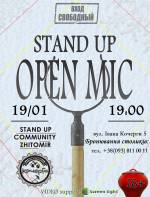 Open Mic/Stand Up/Zhitomir