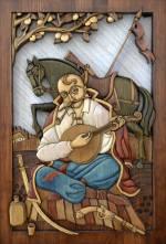 Виставка творів з деревини Анатолія Обельця