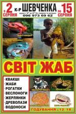 Виставка жаб