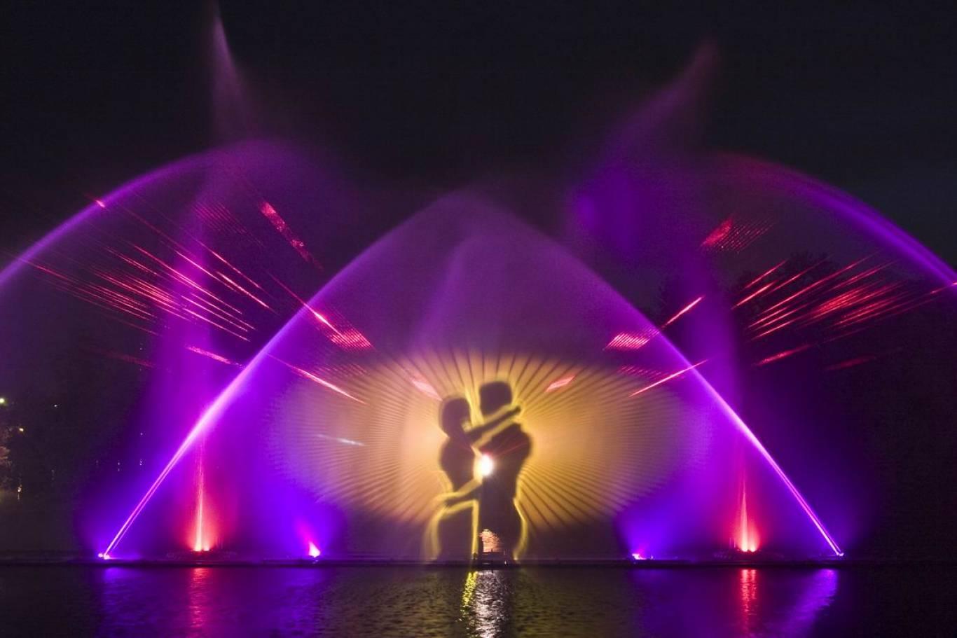 Відкриття фонтану ROSHEN 2018