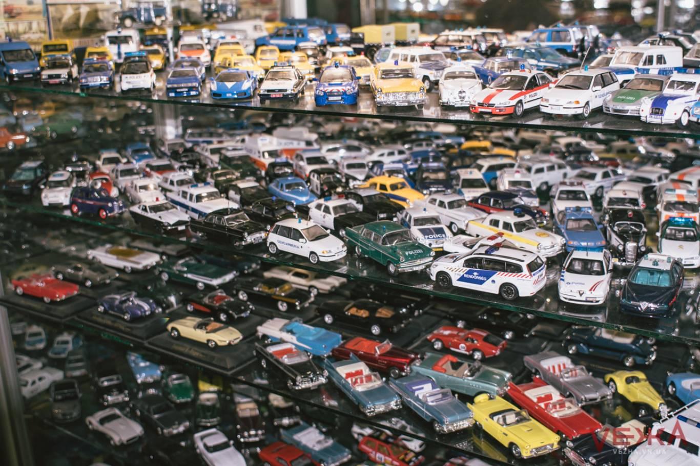 Музей моделей транспорту у Вінниці