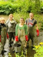 Екологічна акція на річці Вінничка