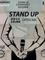 Open Mic Stand Up in Kocherga Bar