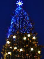Відкриття новорічної ялинки у Львові