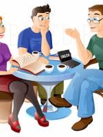 Розклад навчань у клубах вивчення іноземних мов на лютий-березень