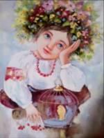 Персональна виставка Вікторії Красуцької Очі малечі