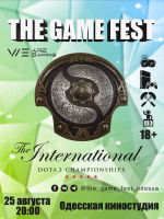 The GAME FEST Odessa PubStomp Dota2 International 2018