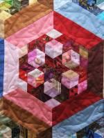 Геометрія кольорів - Виставка печворку Ольги Козицької