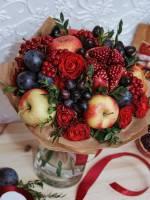 Майстер-клас зі складання фруктового букету