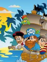 Піратська зустріч за романом Острів скарбів