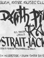 Концерт Death Pill, Ragtag, Strait Jacket, ПШ