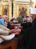 Первосвятительский визит блаженнейшего митрополита Онуфрия