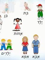 Набор в детскую группу по изучению иврита