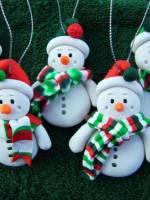 Майстер-клас із виготовлення святкових новорічних прикрас із полімерної глини