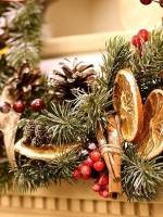 Мастер-класс «Новогодние еловые веночки»
