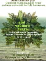 Выставка Татьяны Лисовец и Олеси Лукиной «Сон чайного листа»