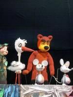 Дитяча вистава Марійка та Ведмідь